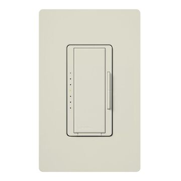 Lutron Maestro Single-Pole Light Almond Touch Light Dimmer