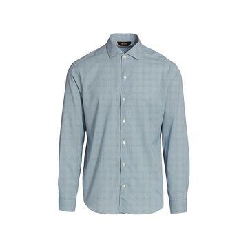 Z Zegna Printed Button-Up Shirt