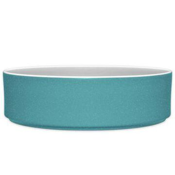 Noritake ColorTrio Stax Serving Bowl in Turquoise