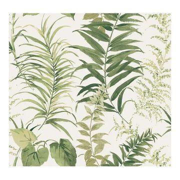 RoomMates Fern Forest Peel & Stick Wallpaper, Green