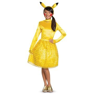 Disguise Pikachu Girl Classic Child Costume-Large (10-12)