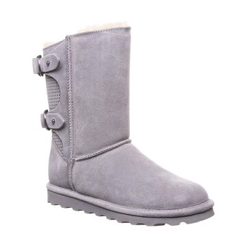 BEARPAW Women's Cold Weather Boots GRAY - Gray Fog Clara Suede Boot - Women