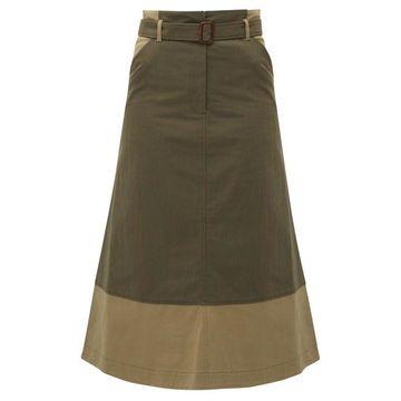 Weekend Max Mara - Circolo Skirt - Womens - Khaki