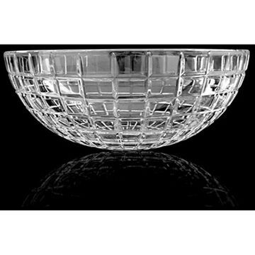WS Bath Collections Crystal Luxor RD Crystal Vessel Bathroom Sink - Clear