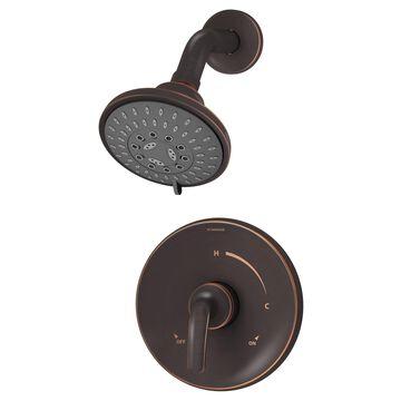 Symmons Elm Seasoned Bronze 1-Handle Shower Faucet (Valve Not Included) Stainless Steel | 5501-SBZ-1.5-TRM