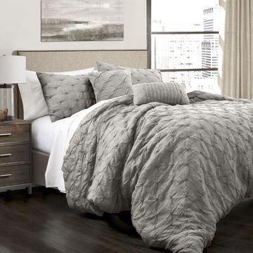 Lush Decor Embroidered Comforter Set