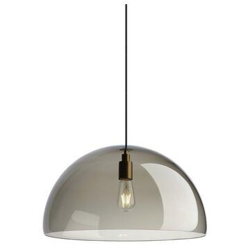 Tech Lighting Duomo Pendant, Aged Brass
