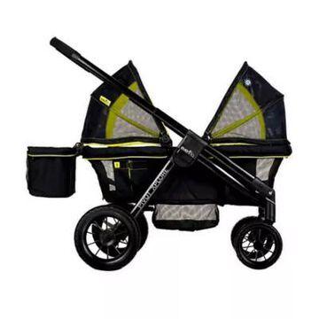 Evenflo Pivot Xplore All-Terrain Double Stroller Wagon in Wayfarer