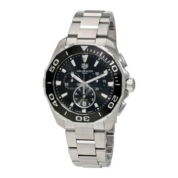 Tag Heuer Aquaracer Chronograph Black Dial Men's Watch CAY111A.BA0927