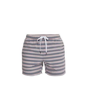 Onia - Charles Striped Swim Shorts - Mens - Light Orange