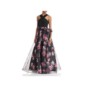 Eliza J Womens Evening Dress Formal Halter