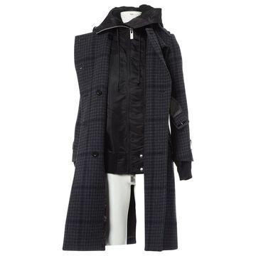 Sacai \N Grey Wool Coats