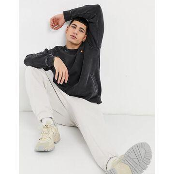 ellesse Dorel sweatshirt in dark gray-Grey
