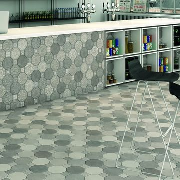 SomerTile 17.75x17.75-inch Imagina Cement Ceramic Floor and Wall Tile (10 tiles/22.5 sqft.)