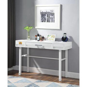 ACME Cargo Vanity Desk in White