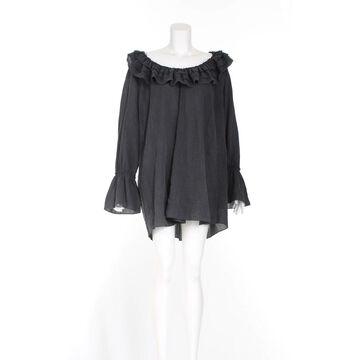 Temperley London Grey Silk Dresses