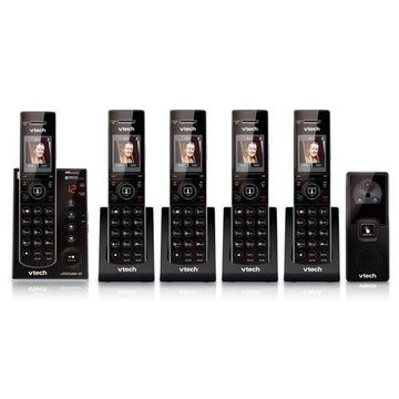 Vtech IS7121-2 Audio/Video Doorbell Phone with IS7101-3 Cordless Handsets