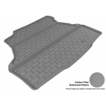 3D MAXpider 2006-2011 Buick Lucerne All Weather Cargo Liner in Gray with Carbon Fiber Look