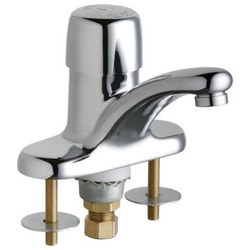 Chicago Faucets 3400-AB Single Supply Hot / Cold Water Basin - Chrome