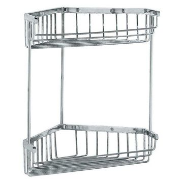 Gatco Corner Shower Basket in Chrome
