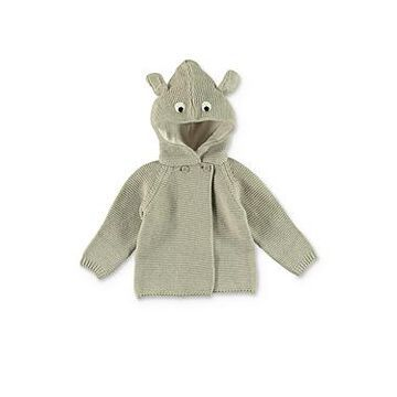 Stella McCartney Unisex Hooded Animal Cardigan - Baby