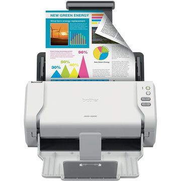 Brother ADS-2200 Desktop Scanner, Black   Quill