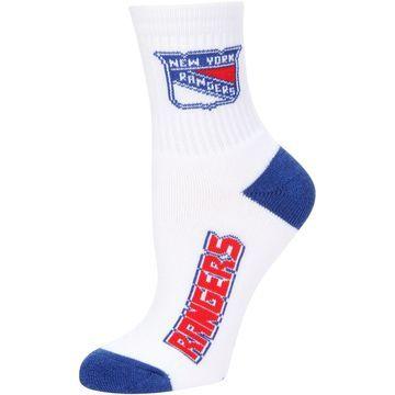 New York Rangers For Bare Feet Women's 2-Pack Quarter-Length Socks