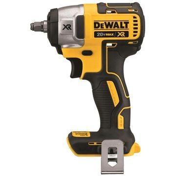 DEWALT XR 20-Volt Max Variable Speed Brushless 3/8-in Drive Cordless Impact Wrench in Black | DCF890B