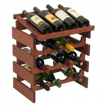 WRD43MH 16 Bottle Dakota Wine Rack with Display Top