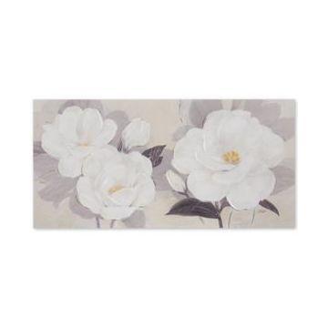 Jla Home Madison Park Midday Bloom Florals Hand-Embellished Canvas Print