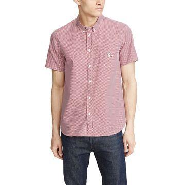 Maison Kitsune Pattern Short Sleeve Shirt