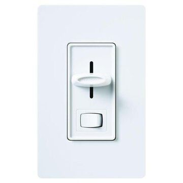 Lutron SCL-153PH-WH 60 Hz White CFL/LED 3-Way Dimmer