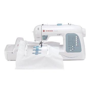 Singer XL-400 Futura Sewing and Embroidery Machine with 125 Embroidery Designs and 30 Built-in Stitches