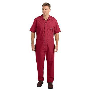 Men's Dickies Regular-Fit Coverall, Size: 2XL BIG, Brt Red