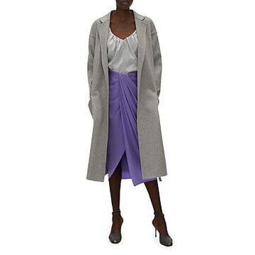 Helmut Lang Wool & Cashmere Belted Coat