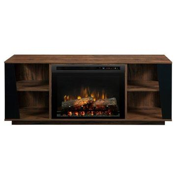 Dimplex Arlo Media Console Electric Fireplace With Logs Television Stand