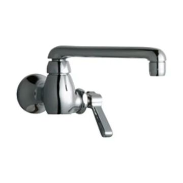Chicago Faucets 332-E35AB Wall Mounted Pot Filler Faucet - Chrome