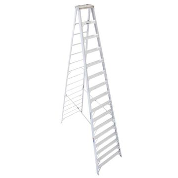 Werner 16-ft Aluminum Type 1A - 300 lbs. Capacity Step Ladder