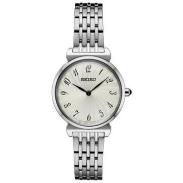 Seiko Women's Essential Stainless Steel Bracelet Watch 29.6mm