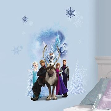 Disney's Frozen Winter Burst Peel & Stick Giant Wall Decals