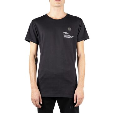 Philipp Plein Black Philipp Plein Logo Cotton T-shirt