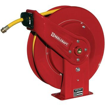 Reelcraft 7850 OLPSW57 1/2-Inch by 50-Feet Spring Driven Garden Hose Reel for...