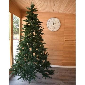ALEKO Traditional Lifelike Artificial Indoor Christmas Holiday Tree - 8 Foot