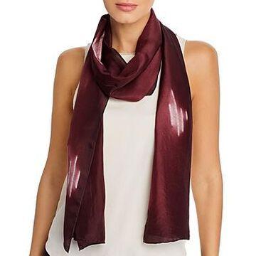 Eileen Fisher Patterned Silk Scarf