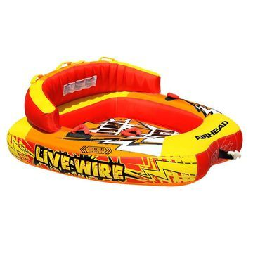 Airhead Live Wire 2-Person Towable Tube