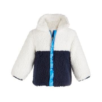 First Impressions Toddler Boys Reversible Colorblocked Jacket, Created For Macy's