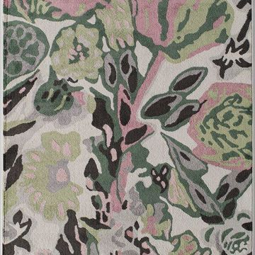 Valentina Transitional Floral Soft Touch Area Rug By Rugs America, May Flowers,