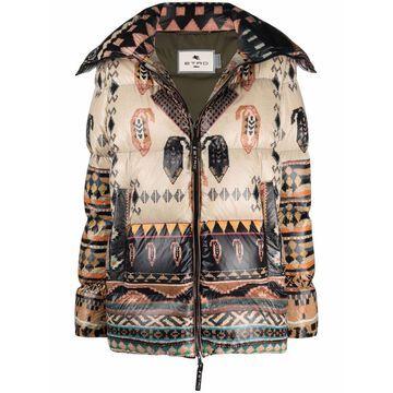 Etro Coats Brown