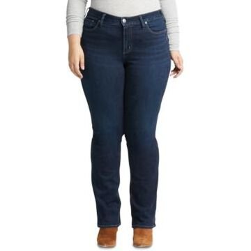 Silver Jeans Co. Trendy Plus Size Avery Slim Bootcut Jeans