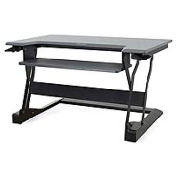 Ergotron 33-397-085 WorkFit-T Sit-Stand Desktop Workstation Stand - Black